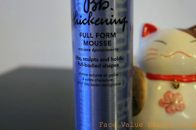 mousse, volume, bumble&bumble, hair, hair styling, beauty blog