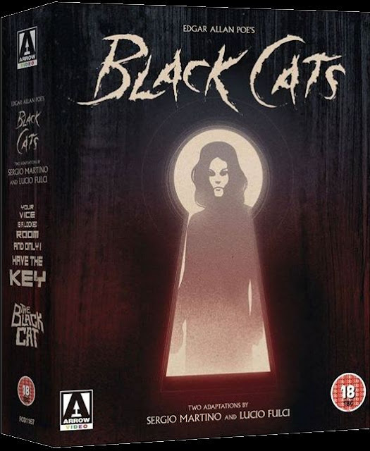 Edgar Allan Poe's Black Cats Blu-ray cover