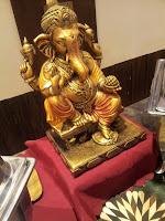 Lord Ganesha Brass Sculpture