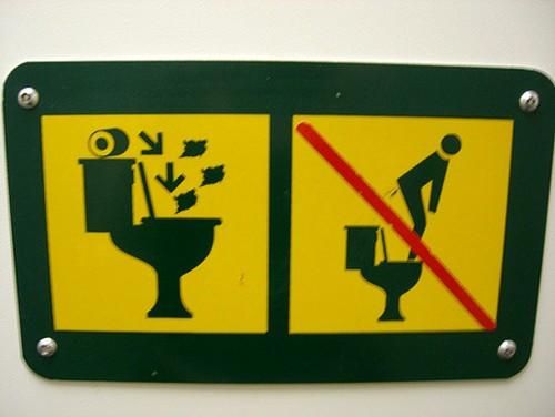 Baños Publicos Originales:Funny Bathroom Signs