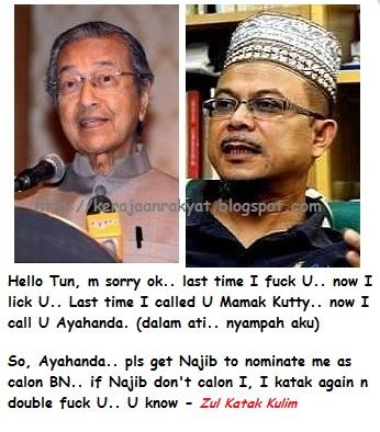 Ahli Parlimen Kulim-Bandar Baharu Datuk Zulkifli Nordin and Tun Dr Mahathir Muhamad
