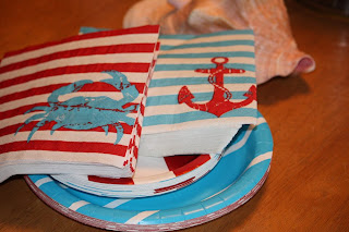 nautical target first birthday party