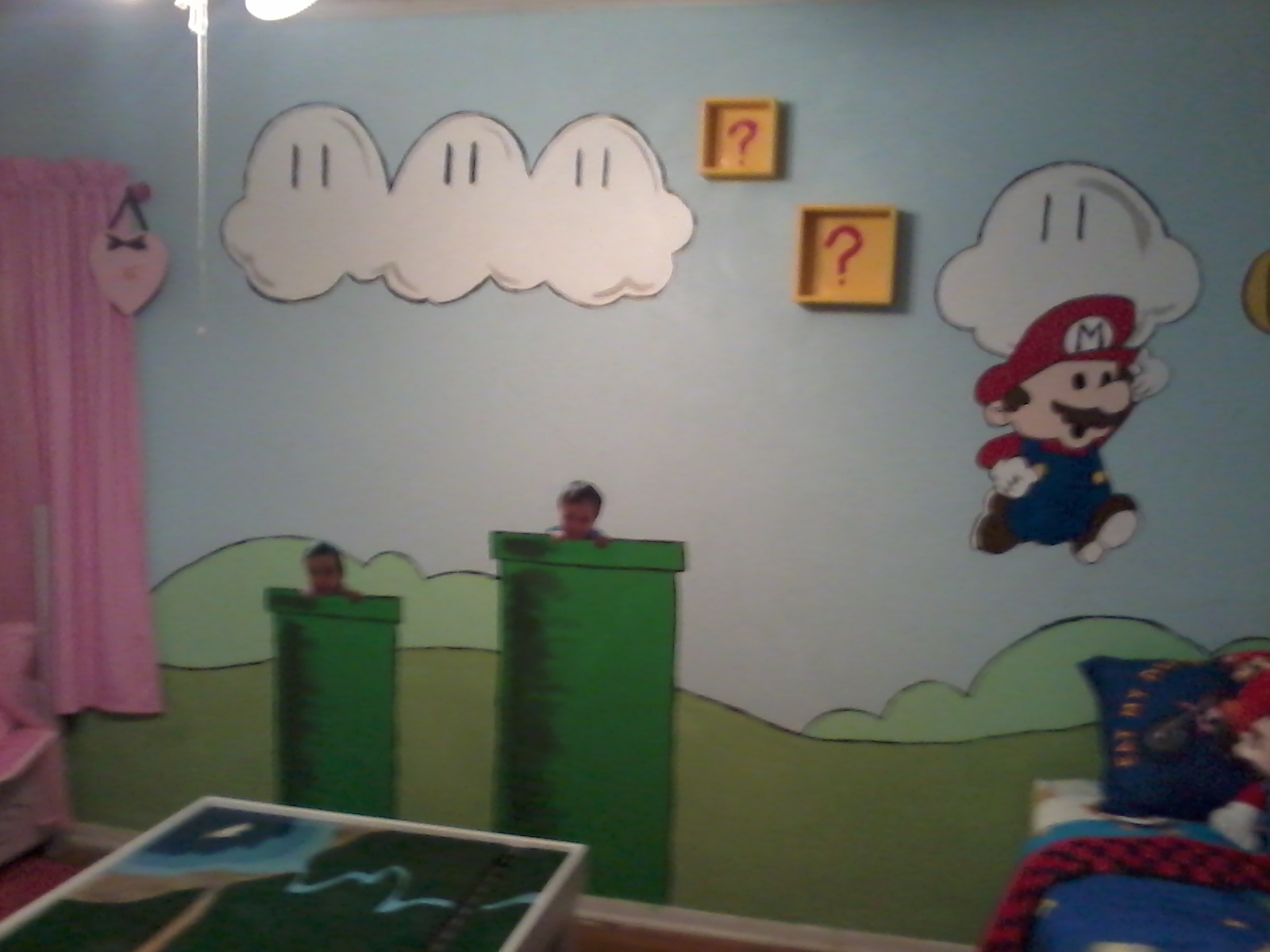 Mario Bedroom Home Works Boy And Girl Shared Mario Bedroom