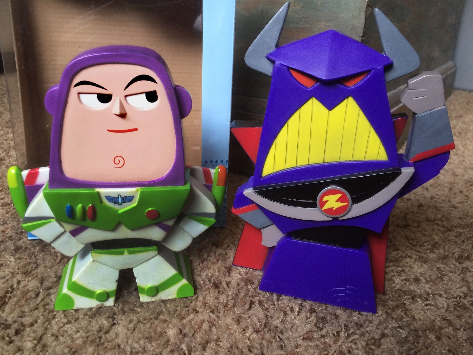 Funko Blox Zurg and Buzz