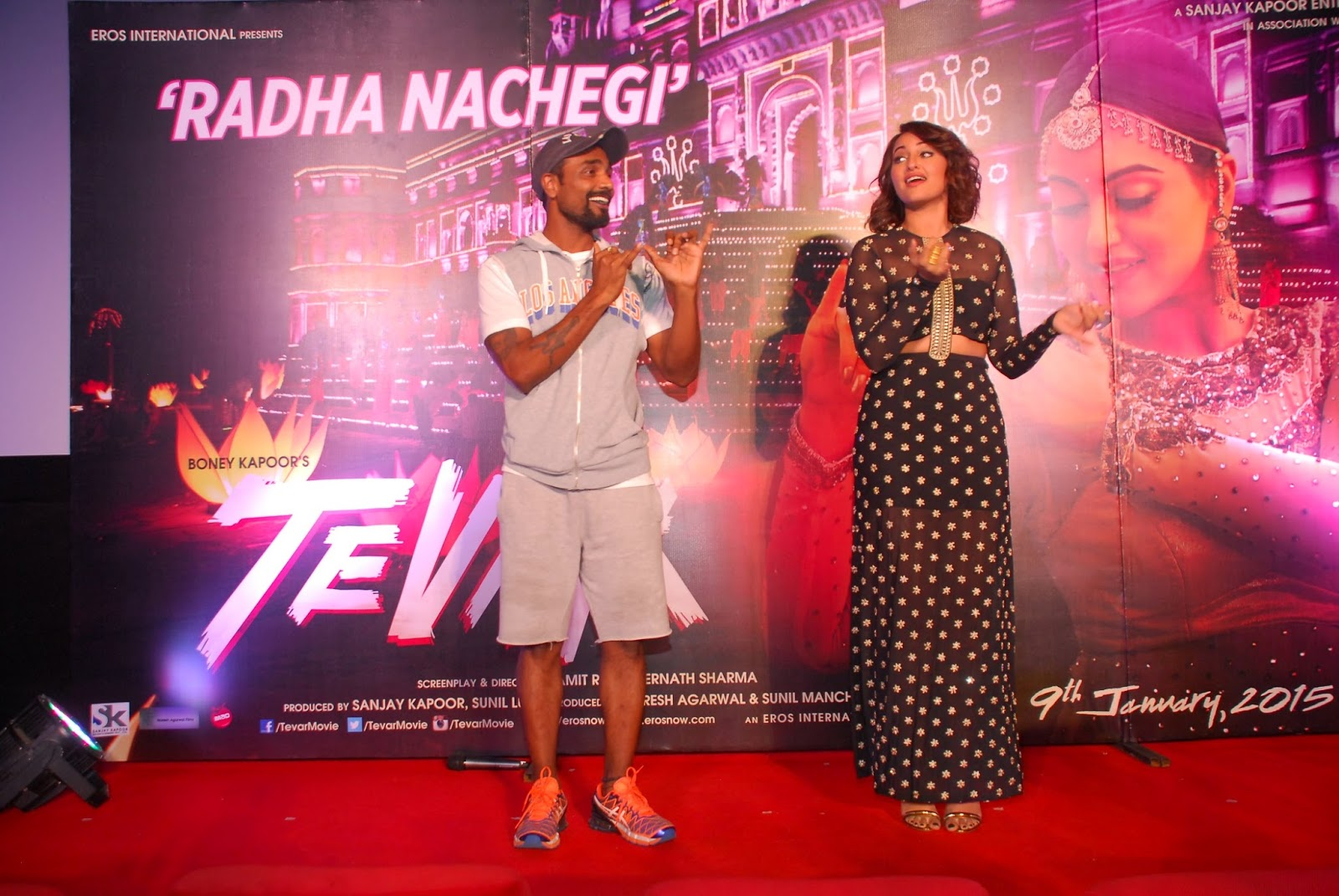 Unveil of 'Radha Nachegi' song from Tevar