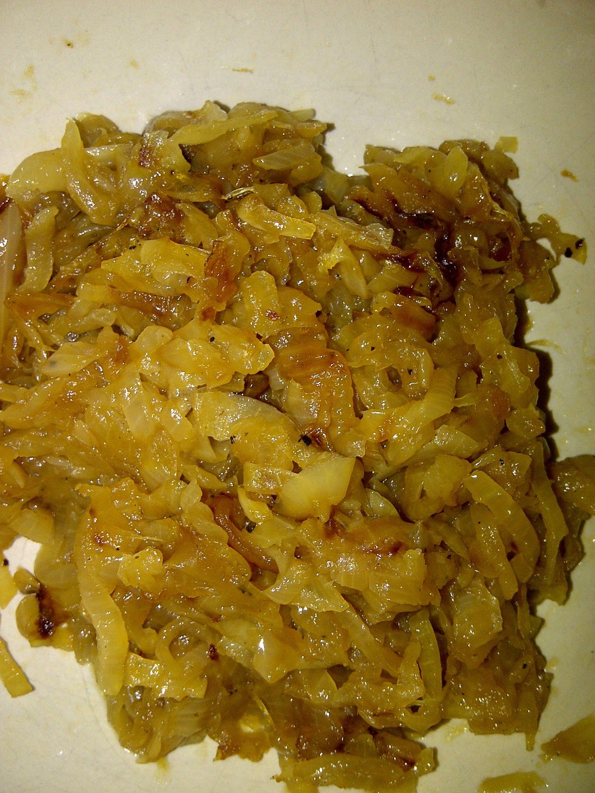 Soliloquy Of Food & Such: Caramelized Onions & Mustard ...