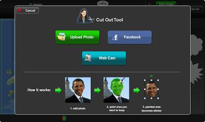 вырезать лицо из фотографии в бесплатном онлайн фото редакторе piZap для новичков