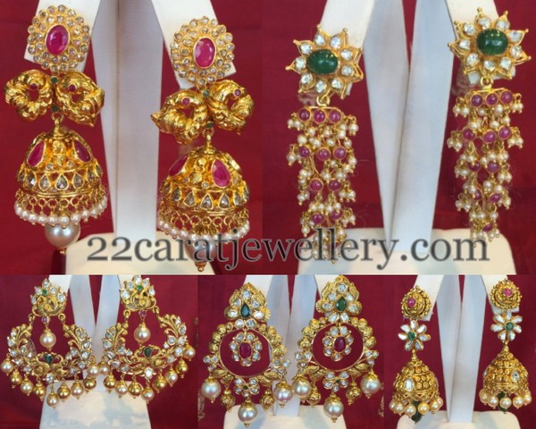 Jhumkas and Trendy Chandbalis Collection