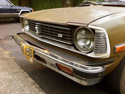 1973 Toyota Corolla 1600 headlights