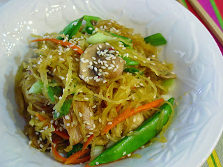 Asian Spaghetti Squash   from Soup Spice Everything Nice