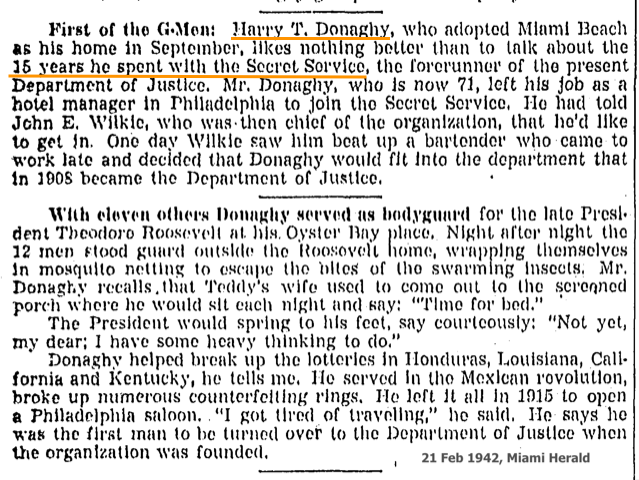 HARRY T. DONAGHY