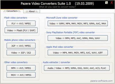 software converter audio video