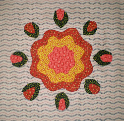 Rose Garden Block of the Month