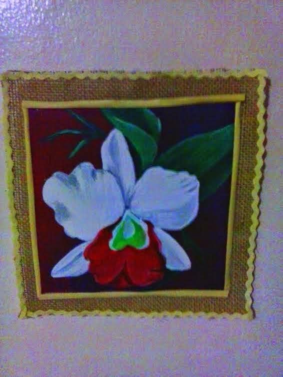 Desouvre Cuadros De Flores Pintadas En Acrilico