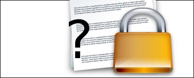 Comment protéger un fichier avec un mot de passe ?