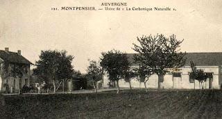 La butte et la mare de Montpensier.