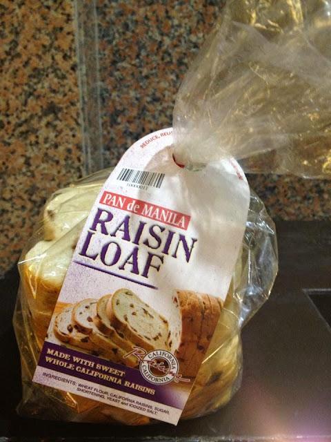 Pan de Manila Raisin Loaf