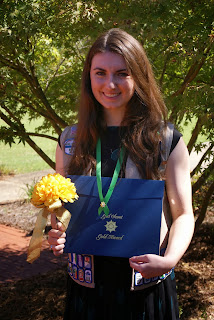 Montgomery Catholic's O'Mara Earns Girl Scout Gold Award 1