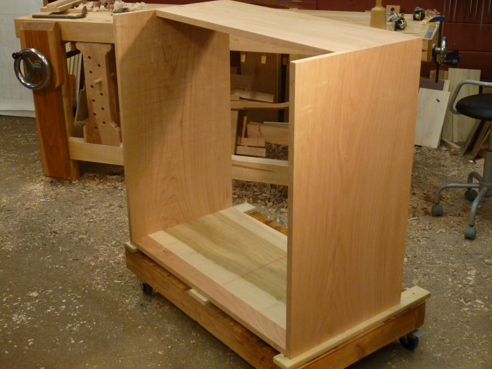 furniture making a cherry desk