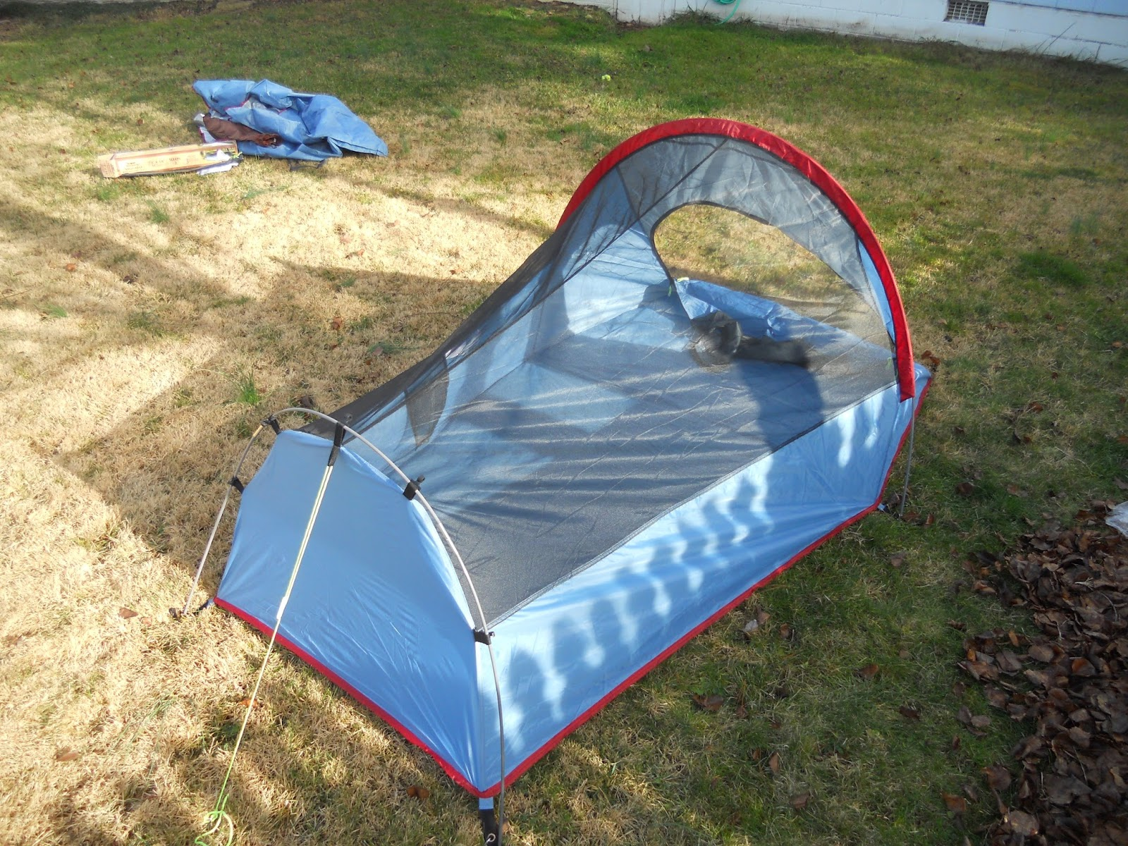 Texsport Saguaro Bivy Shelter Tent from Starboard Side Looking Forward & Texsport Saguaro Bivy Shelter Tent: Texsport Saguaro Bivy Shelter ...