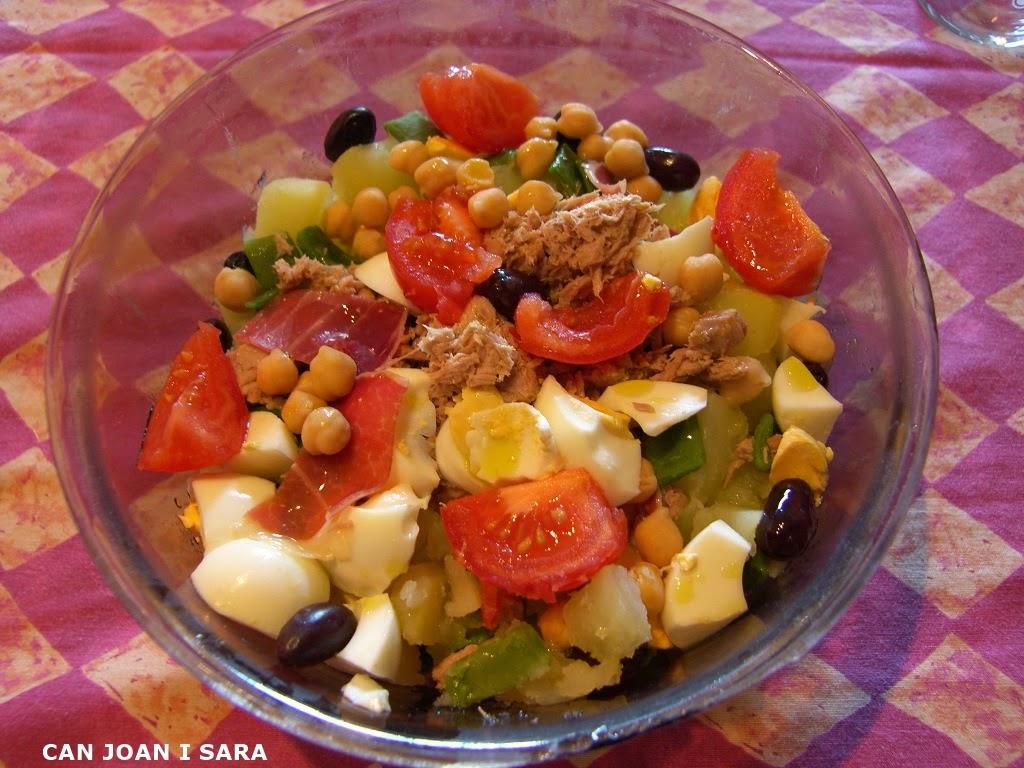 Ensalada de judias verdes y patata recetas de cocina - Tiempo coccion judias verdes ...