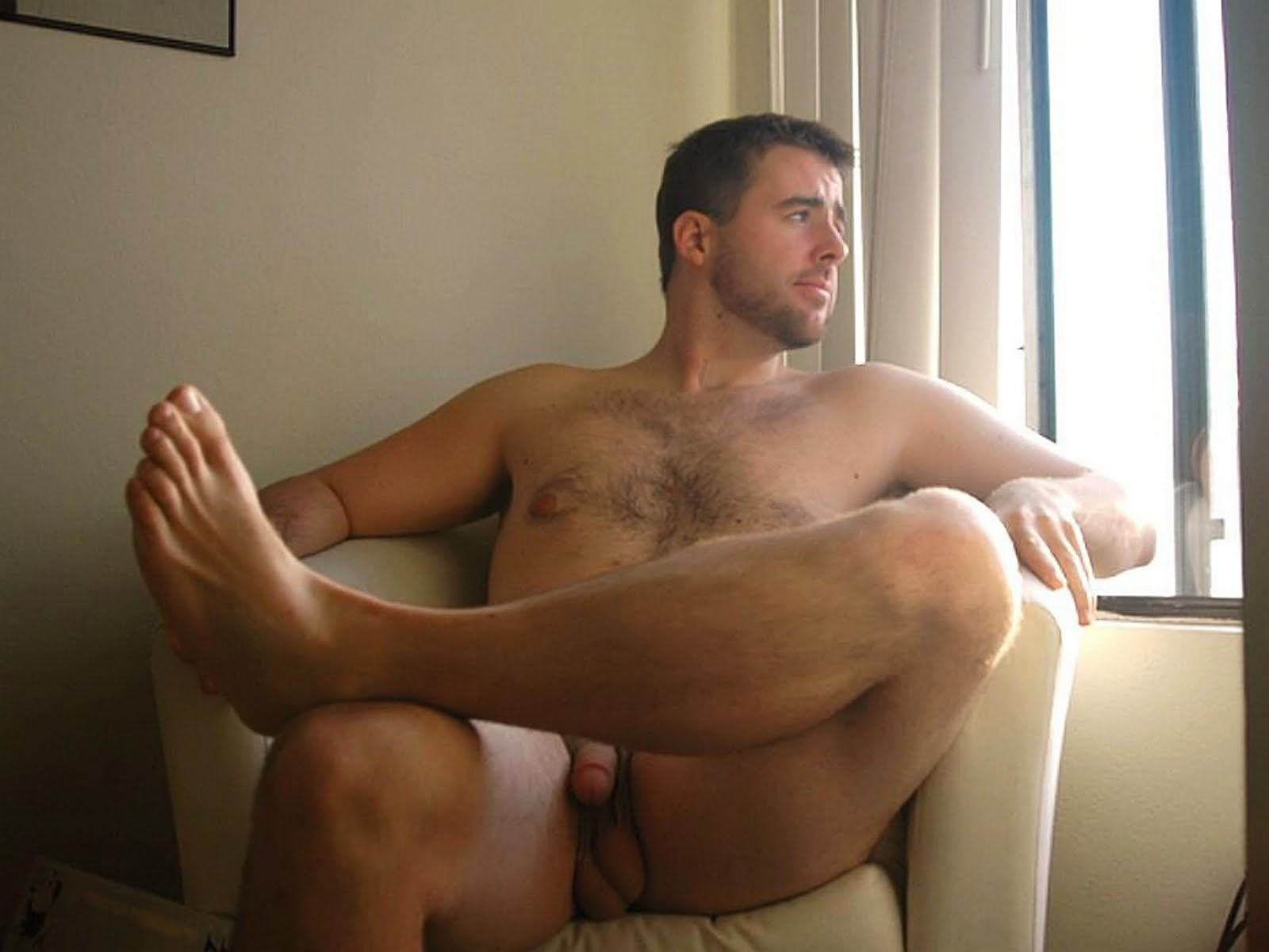 from Brycen men nude and feet