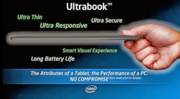 Daftar Harga Ultrabook Murah Terbaru