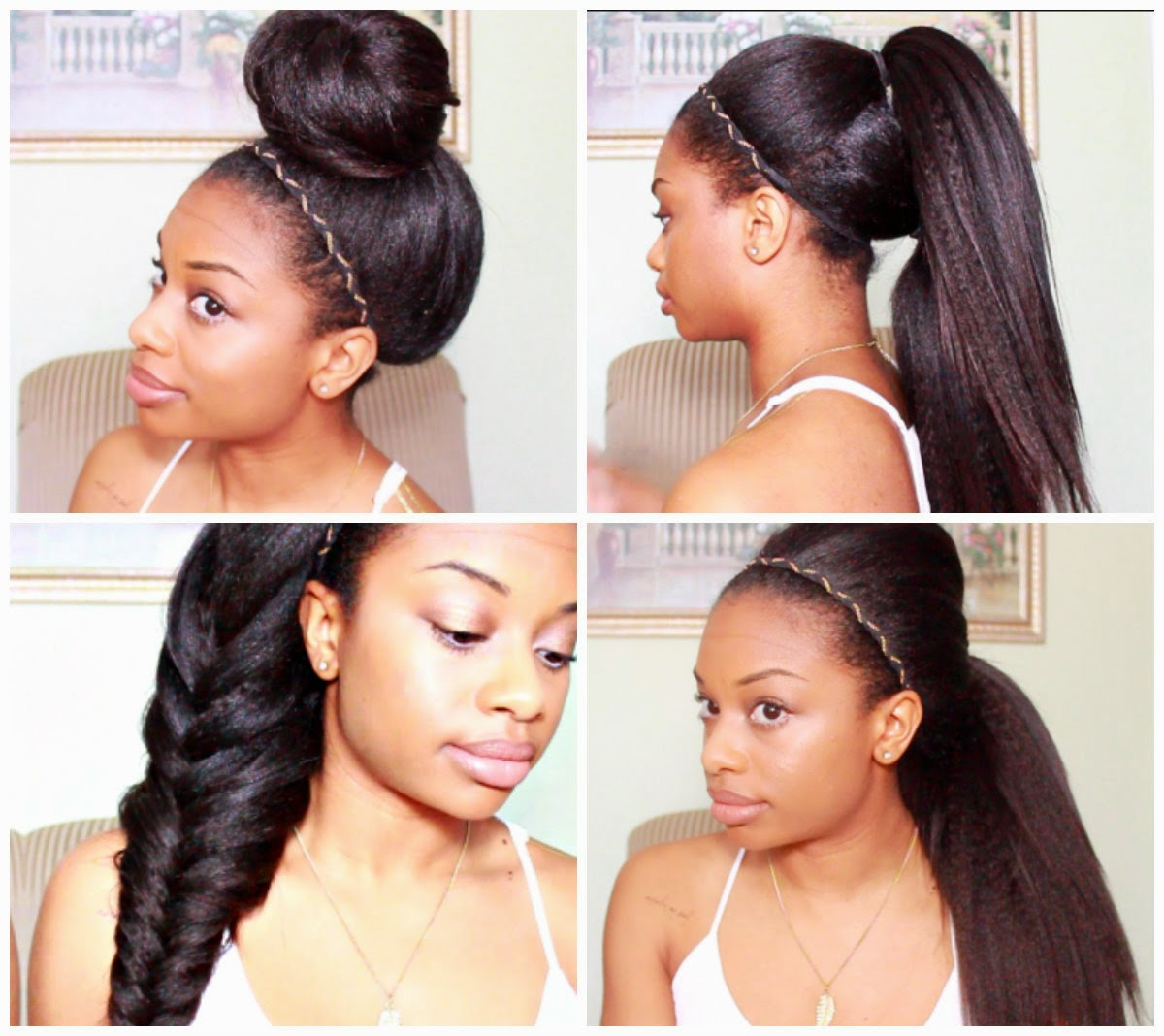 4 Easy Hairstyles Journey To Waist Length