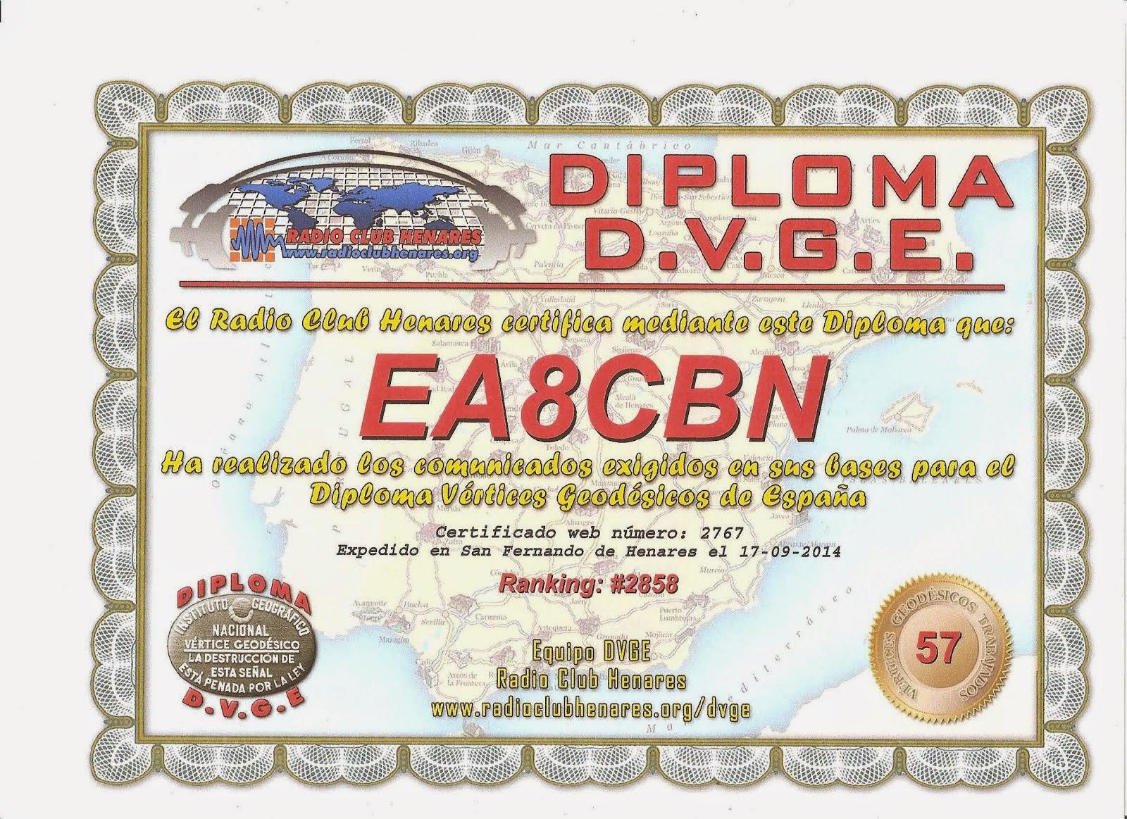 Diploma DVGE