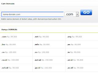 daftar domain pulau web