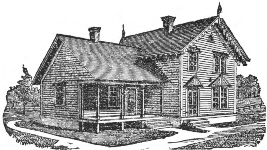 19th century historical tidbits 1885 rural house designs for 19th century farmhouse plans