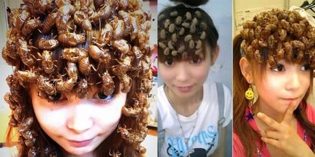 Cantik : Model Rambut 'Dikeroyok' Serangga