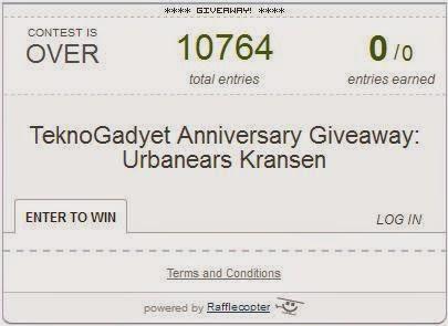 TeknoGadyet Anniversary Giveaway: Urbanears Kransen Winner