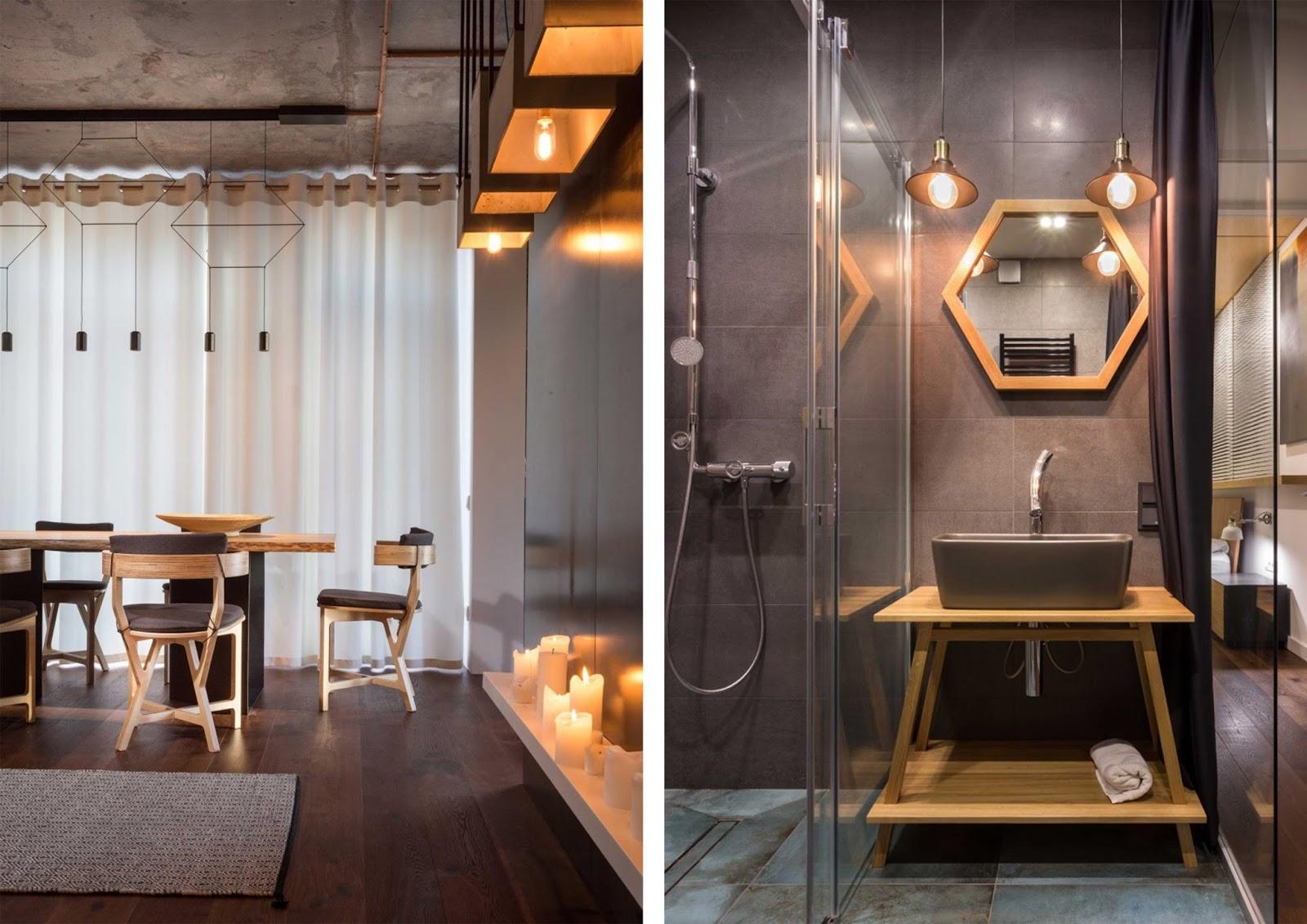 Appartamento in stile moderno e industriale a kiev by for Appartamento stile moderno