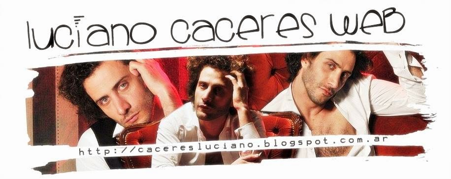 Luciano Cáceres Web