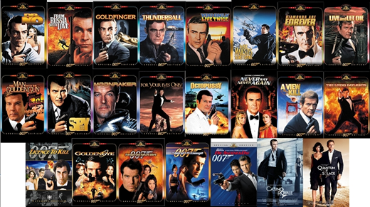 bond movie order