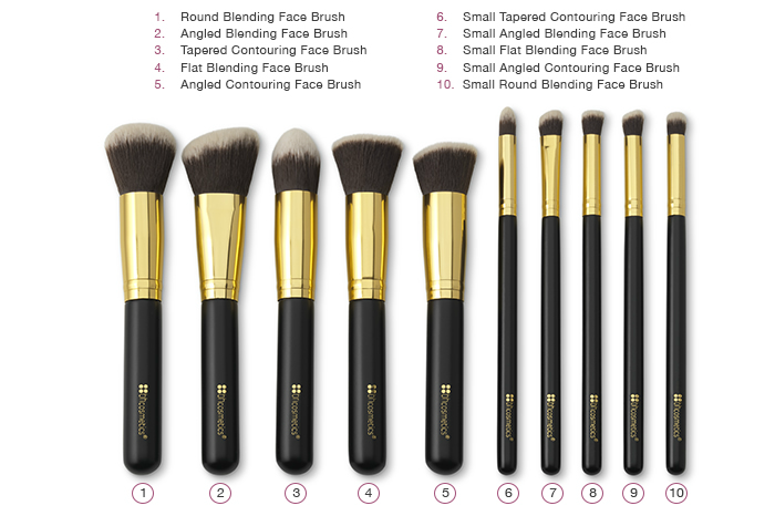 BH Cosmetics Brush Set