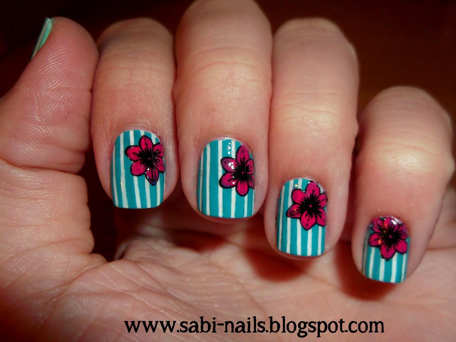 http://sabi-nails.blogspot.com/2014/04/kwiatki-na-paskach.html