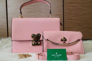 Tas KW Kate Spade Lovly 2in1 Semi Premium 310JY Jakarta