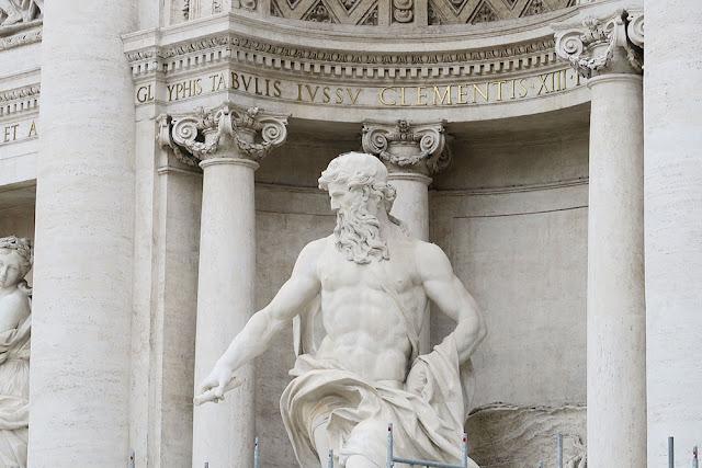 Trevi Fountain Statue