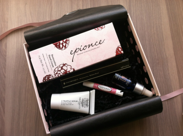 Glossy Box - November 2012 Review - Women's Beauty and Makeup Monthly Subscription Boxes
