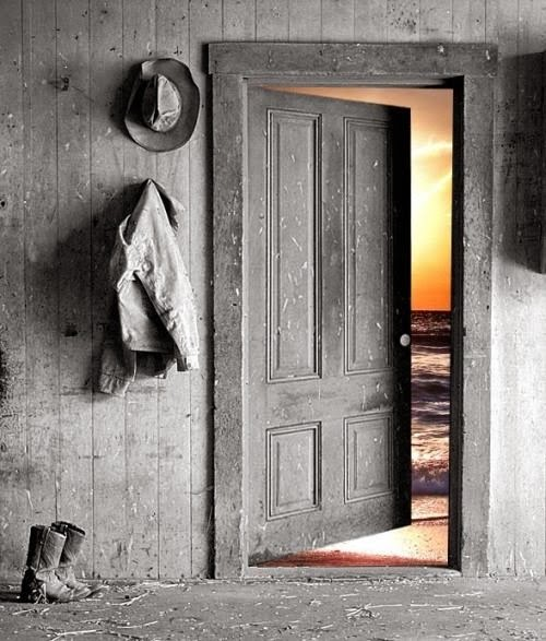 Je laisse ma porte ouverte...