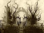 dark horror wallpaper