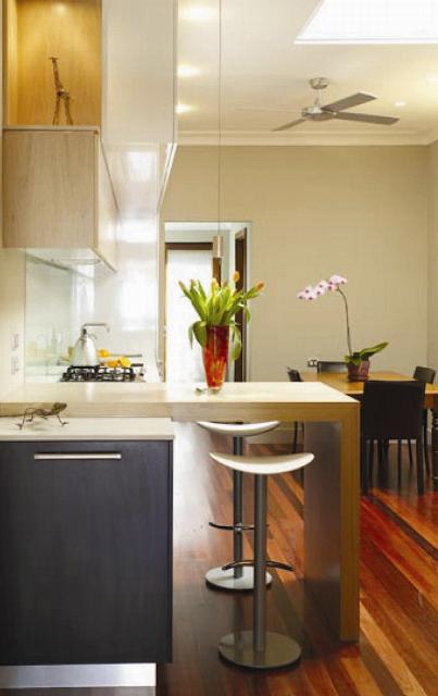 C mo maximizar el espacio en la cocina cocinas con estilo - Cocinas madera clara ...