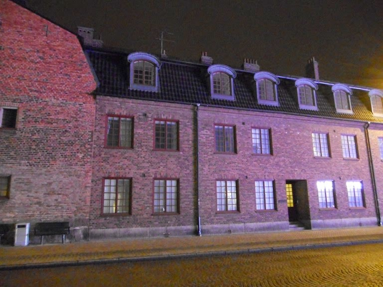 Kristianstad by night :-)