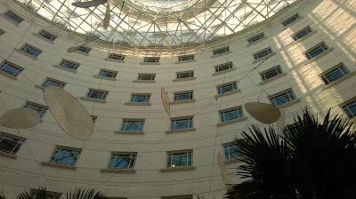 Rendezvous Grand Hotel, yard, lobby, Singapore