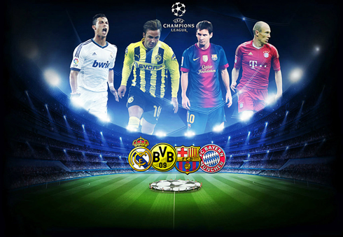 Jadwal Hasil Drawing Undian Liga Champions League 2013 Hasil Drawing Undian (Jadwal) Semifinal Liga Champions League Eropa 2013