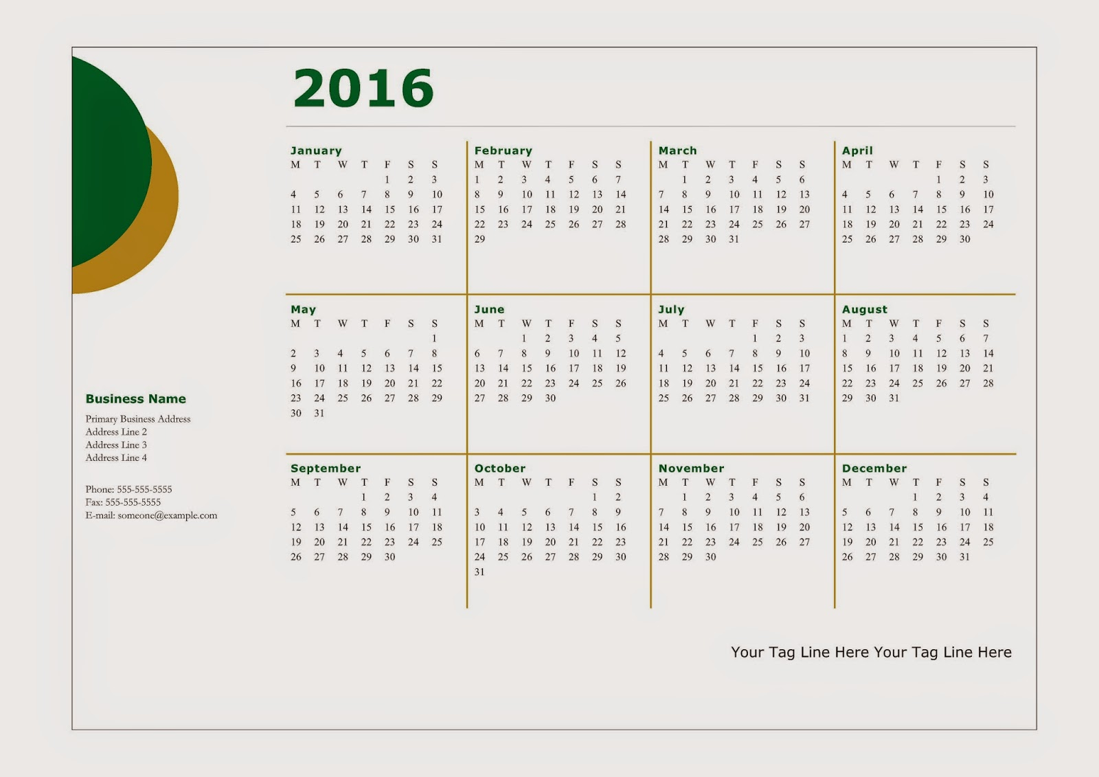 Calendar Design Free Download : Calendar design new template site