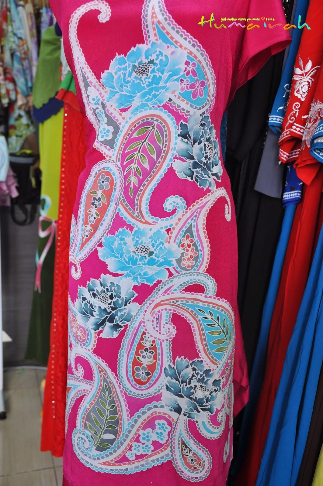 CX78 - Batik Sutera Handmade Exclusive Paisley Pink 6