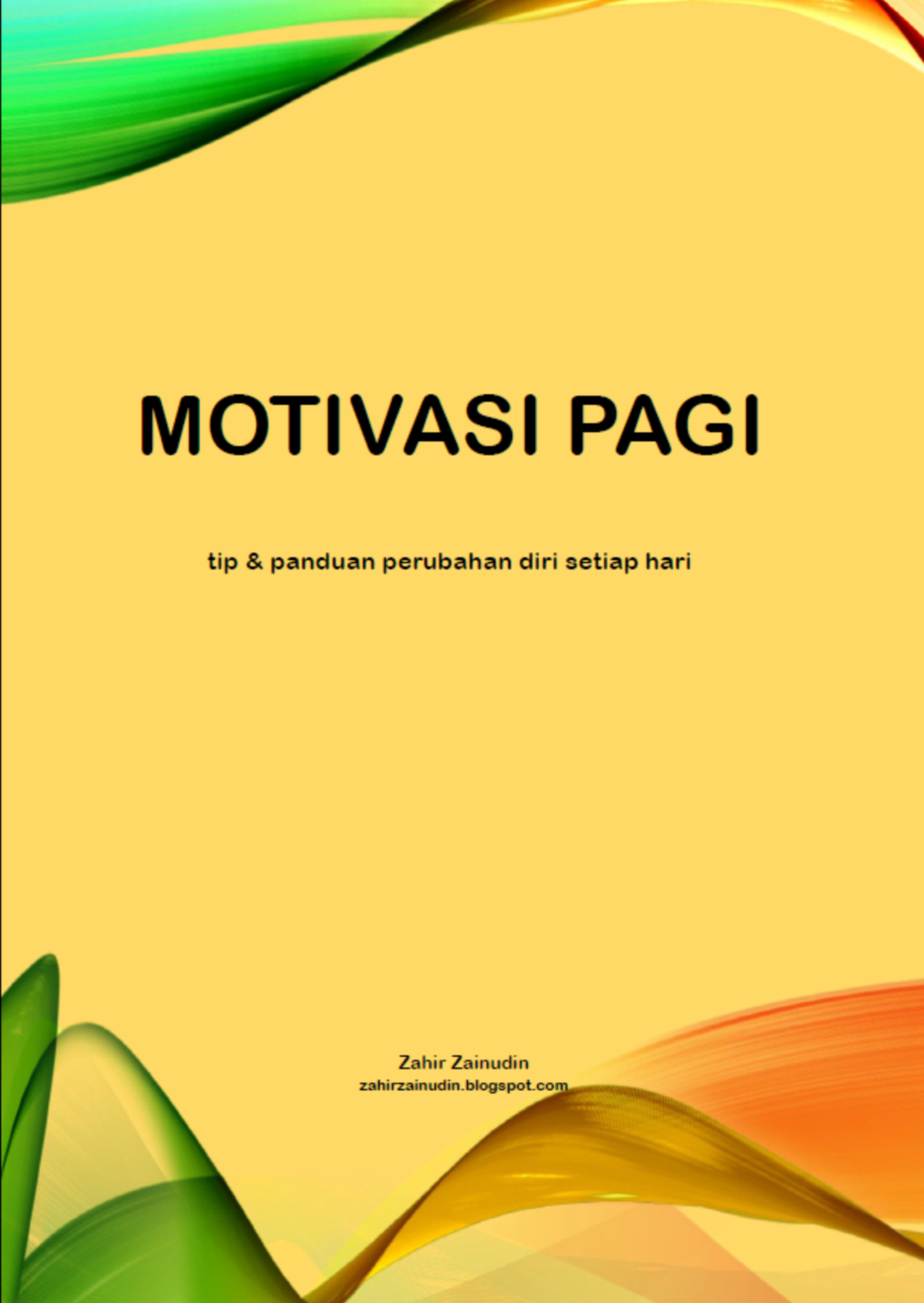 MOTIVASI PAGI (ebook)